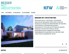 Website der BAK und KfW (Screenshot)